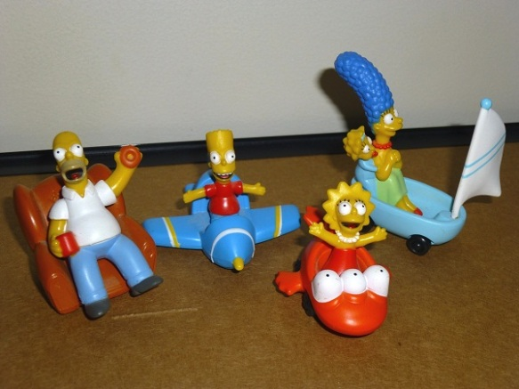 Simpsons Play Inc diecast cars